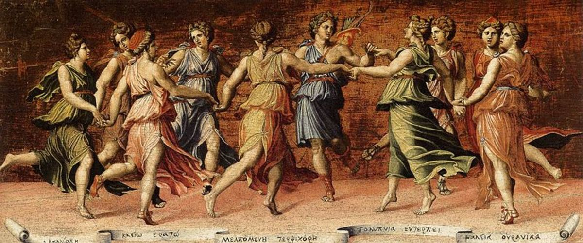 The Muses of Ancient Greece