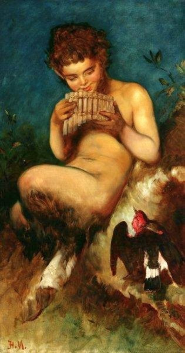 The Fauns of Roman Mythology