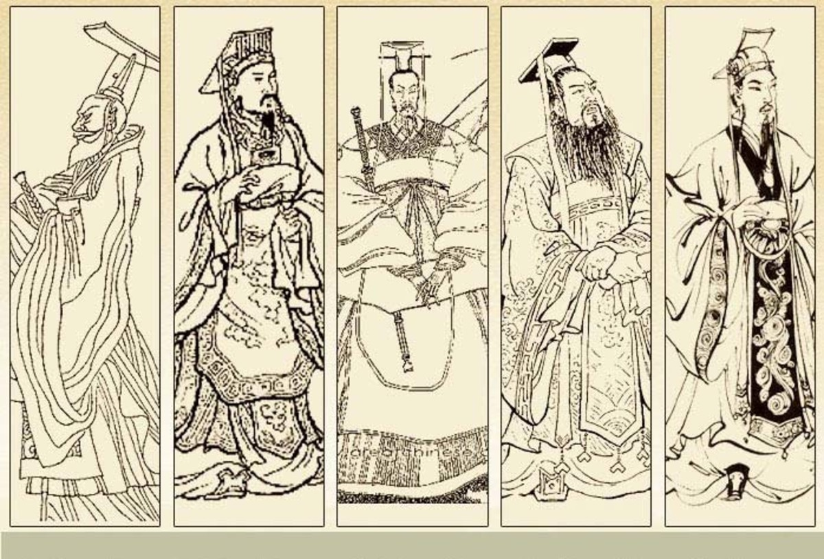 The Five Hegemons of the Spring and Autumn Period
