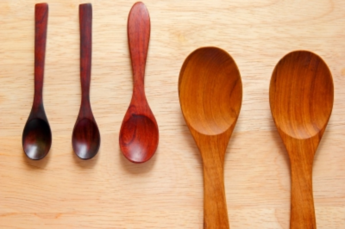Wooden spoons are better for stirring for those with multiple sclerosis.