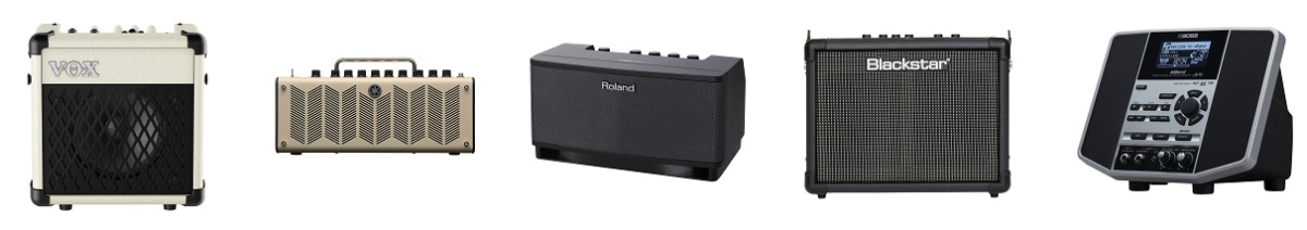 Top five best guitar amps for home practicing - Vox Mini5 Rhythm, Yamaha THR 10, Roland Cube Lite, Blackstar ID: Core 10 and Boss eBand JS-10