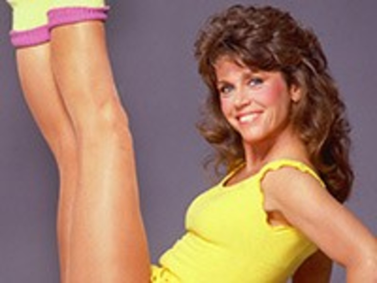 "Boomer Fitness 1953-2013. Jane Fonda starred in her first workout video in 1982.This interactive timeline features boomers that helped lead ""the golden era of health."""