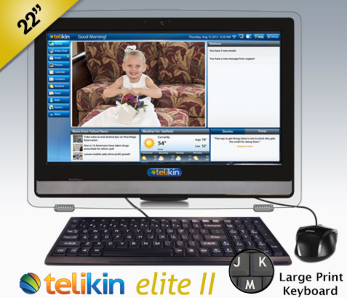 Simple, Easy to Use, Touchscreen Computers for seniors