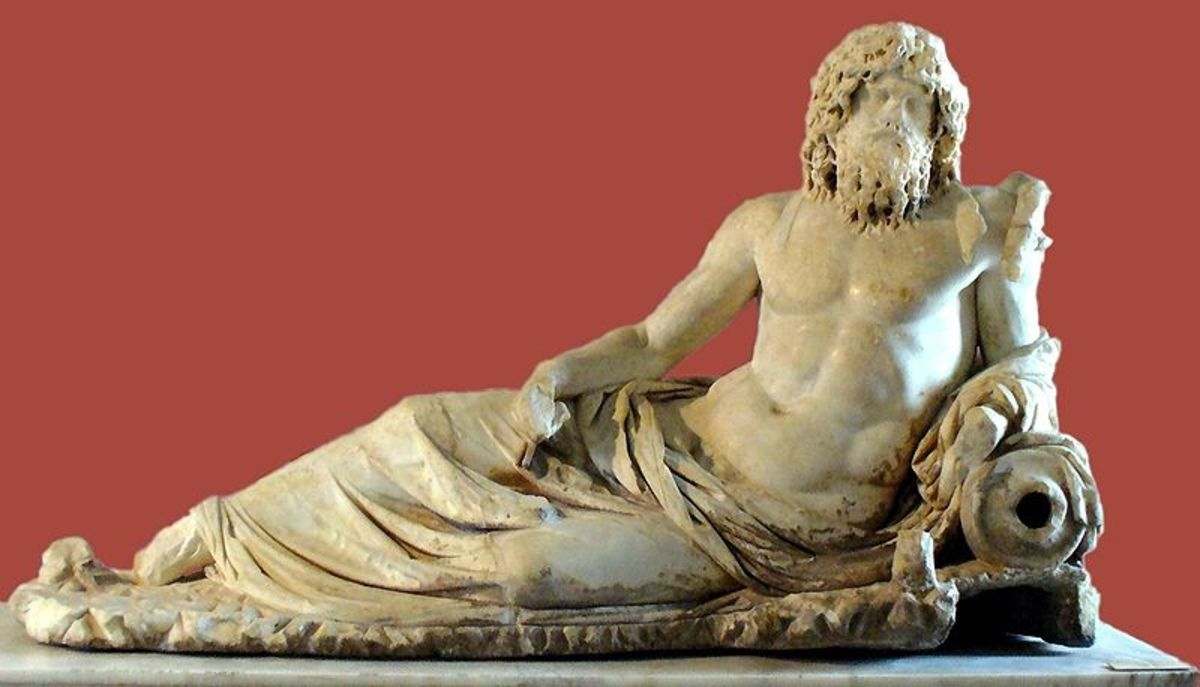 The God Oceanus in Greek Mythology