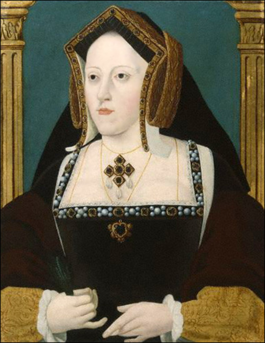 Catherine of Aragon in later years.