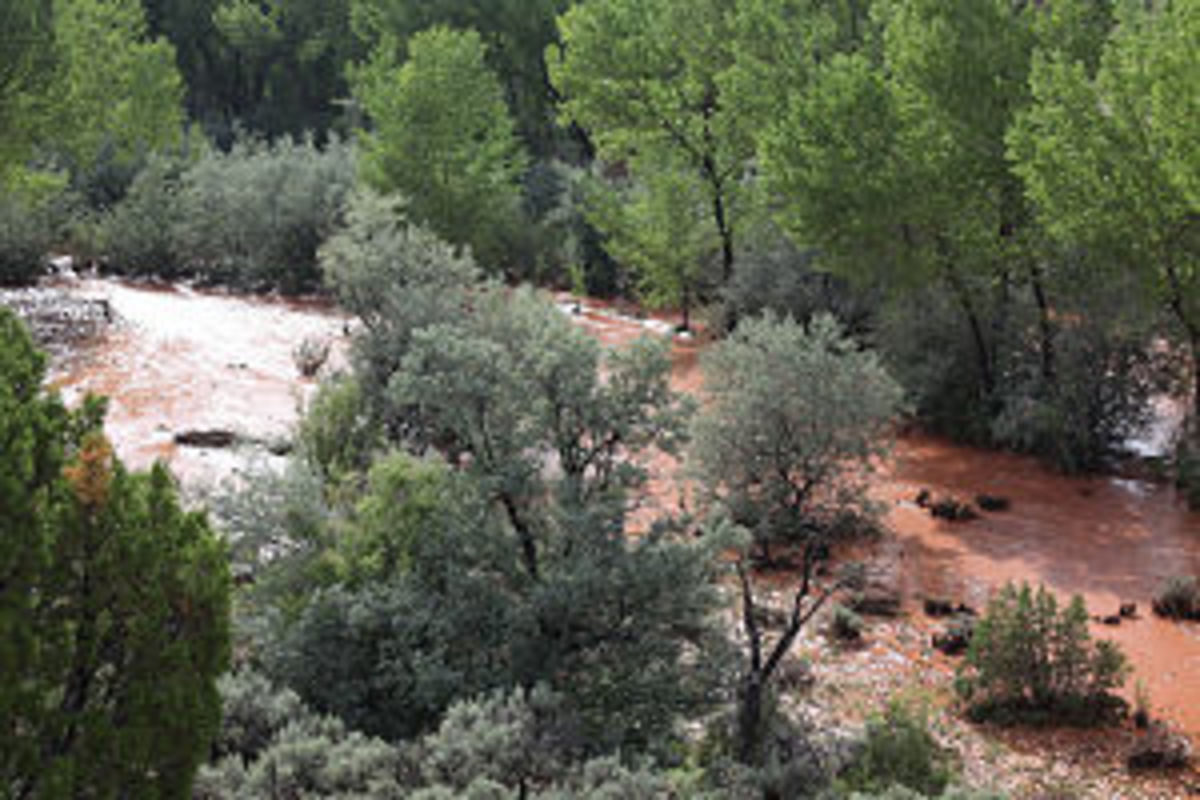 The Rio Puerco River would carry the radioactive wastewater downstream to thousands of victims.