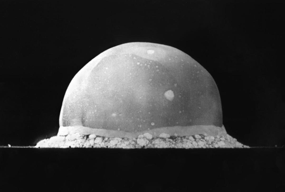 An atomic fireball