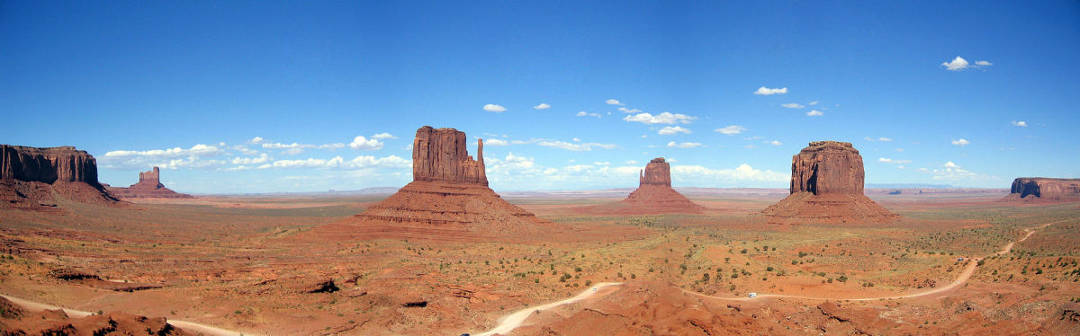 Monument Valley sacred ground for the Navajo people.