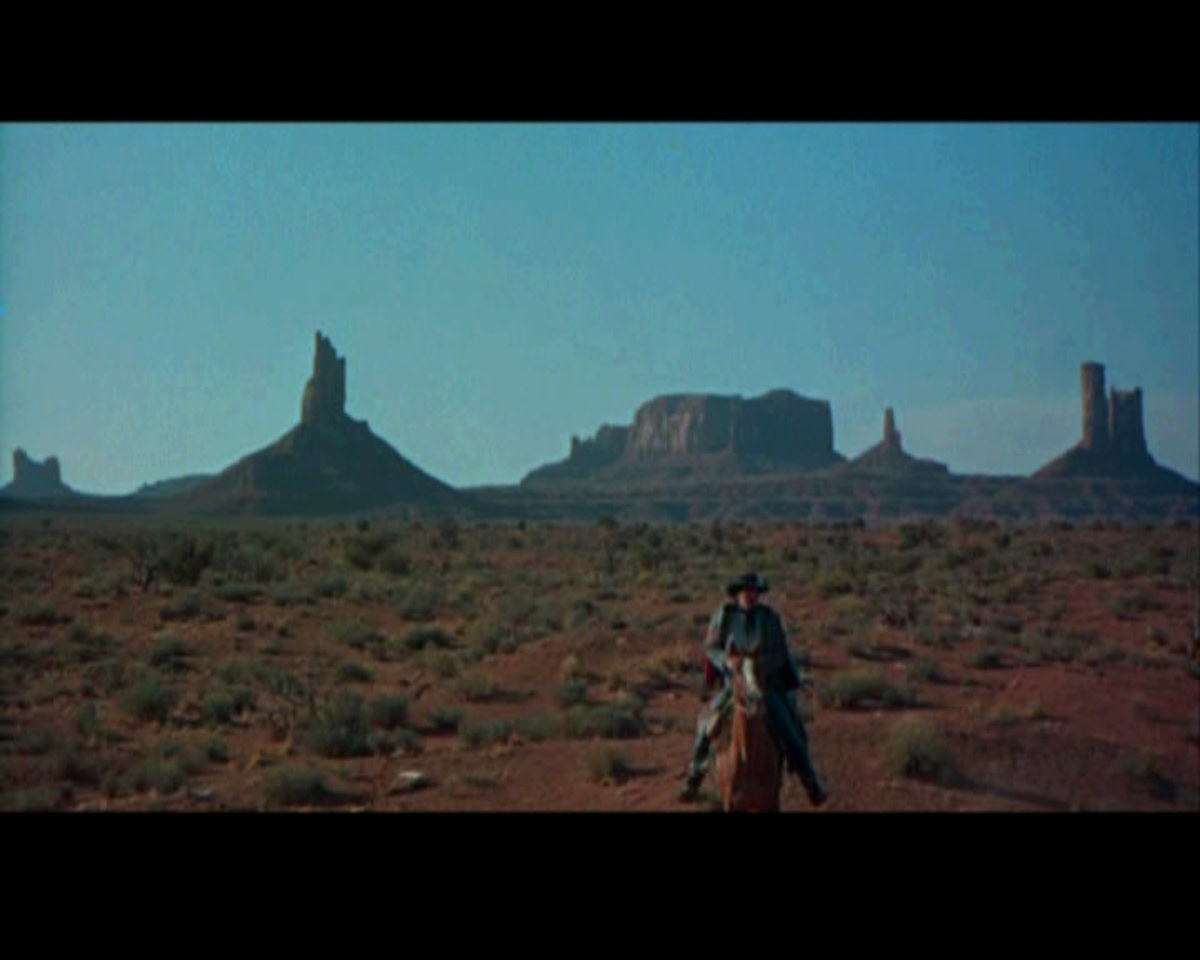 The massive buttes and rock spires in the Navajo desert home to the scared landmarks of the Navajo people, and backgrounds for famous Westerns directed by John Ford during the golden years of western films.