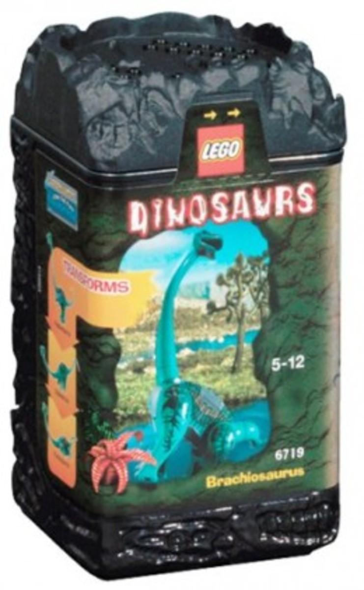 LEGO Dinosaurs Brachiosaurus 6719 Box