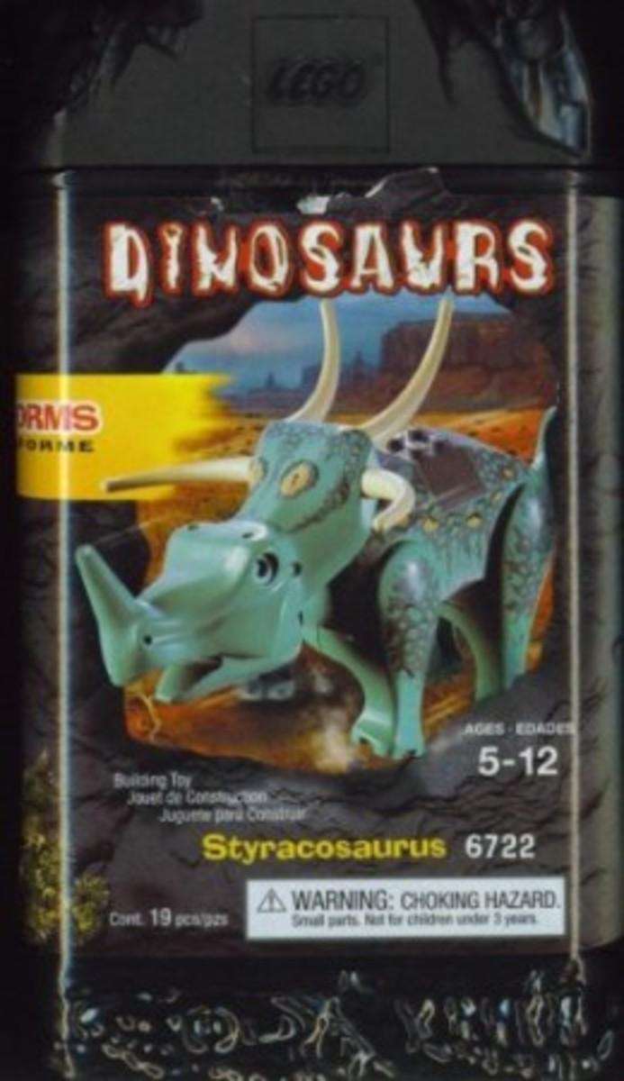 LEGO Dinosaurs Styracosaurus 6722 Box