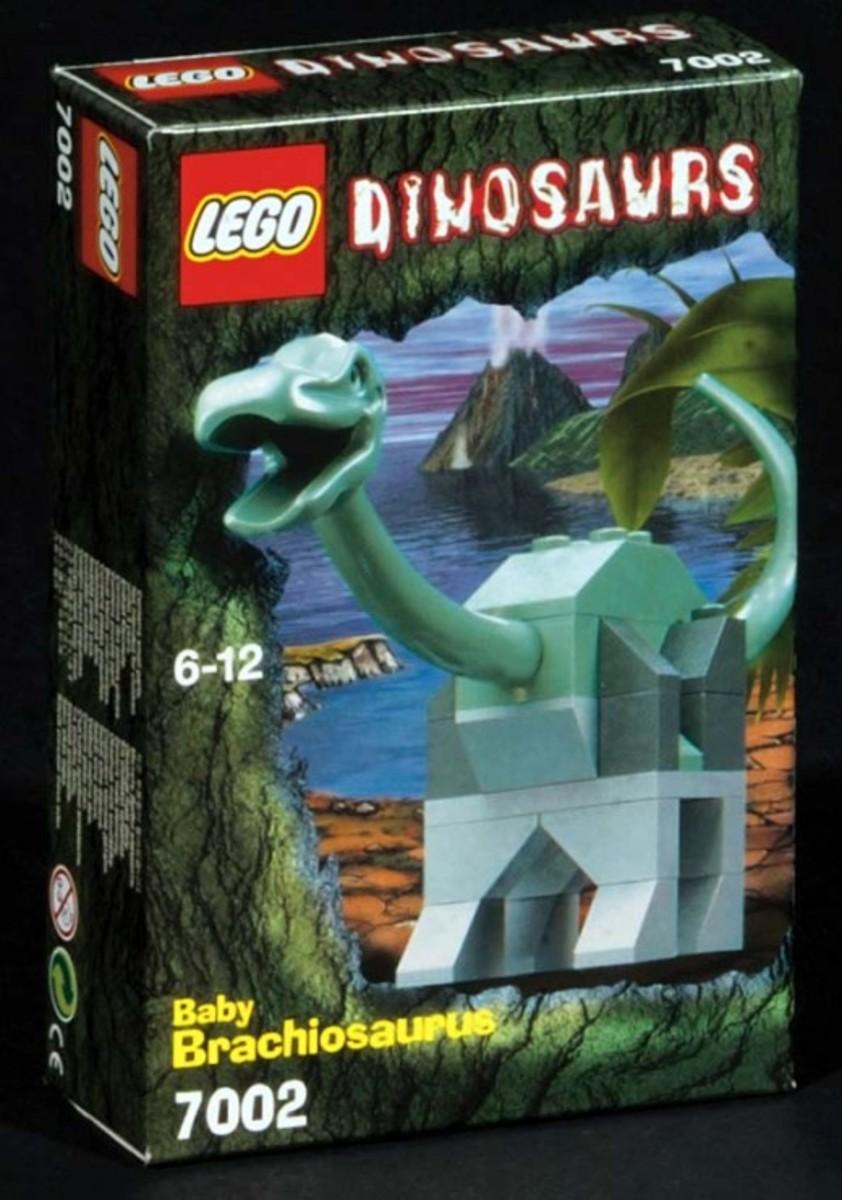 LEGO Dinosaurs Young Brachiosaurus 7002 Box