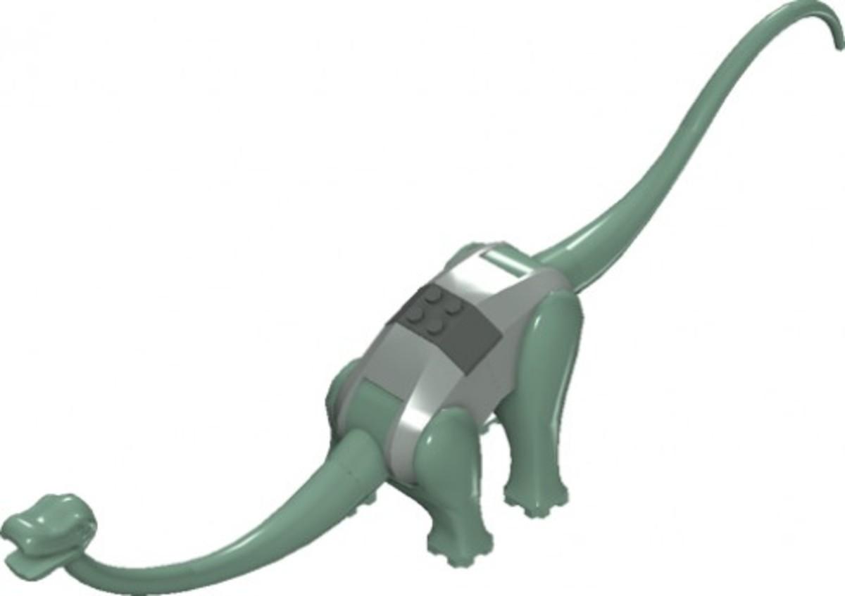LEGO Dinosaurs Diplodocus 6719 Assembled