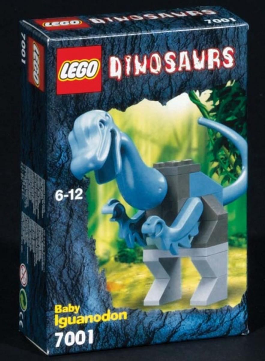 LEGO Dinosaurs Young Iguanodon 7001 Box