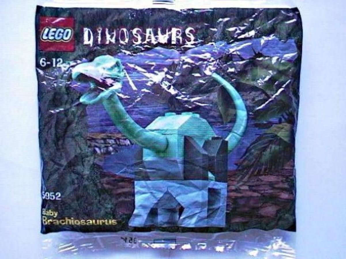 LEGO Dinosaurs Baby Brachiosaurus 5952 Bag