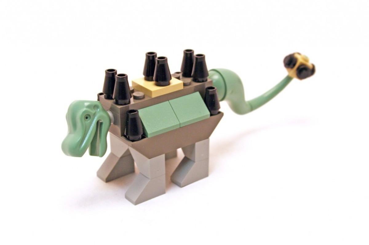LEGO Dinosaurs Baby / Young Ankylosaurus 5950 / 7000 Assembled