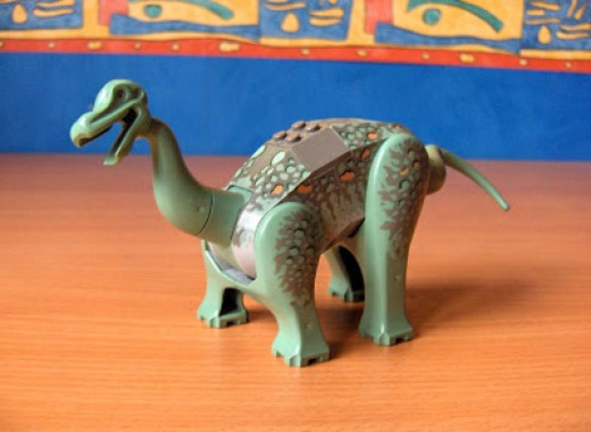 LEGO Dinosaurs Camarasaurus 6622 Assembled