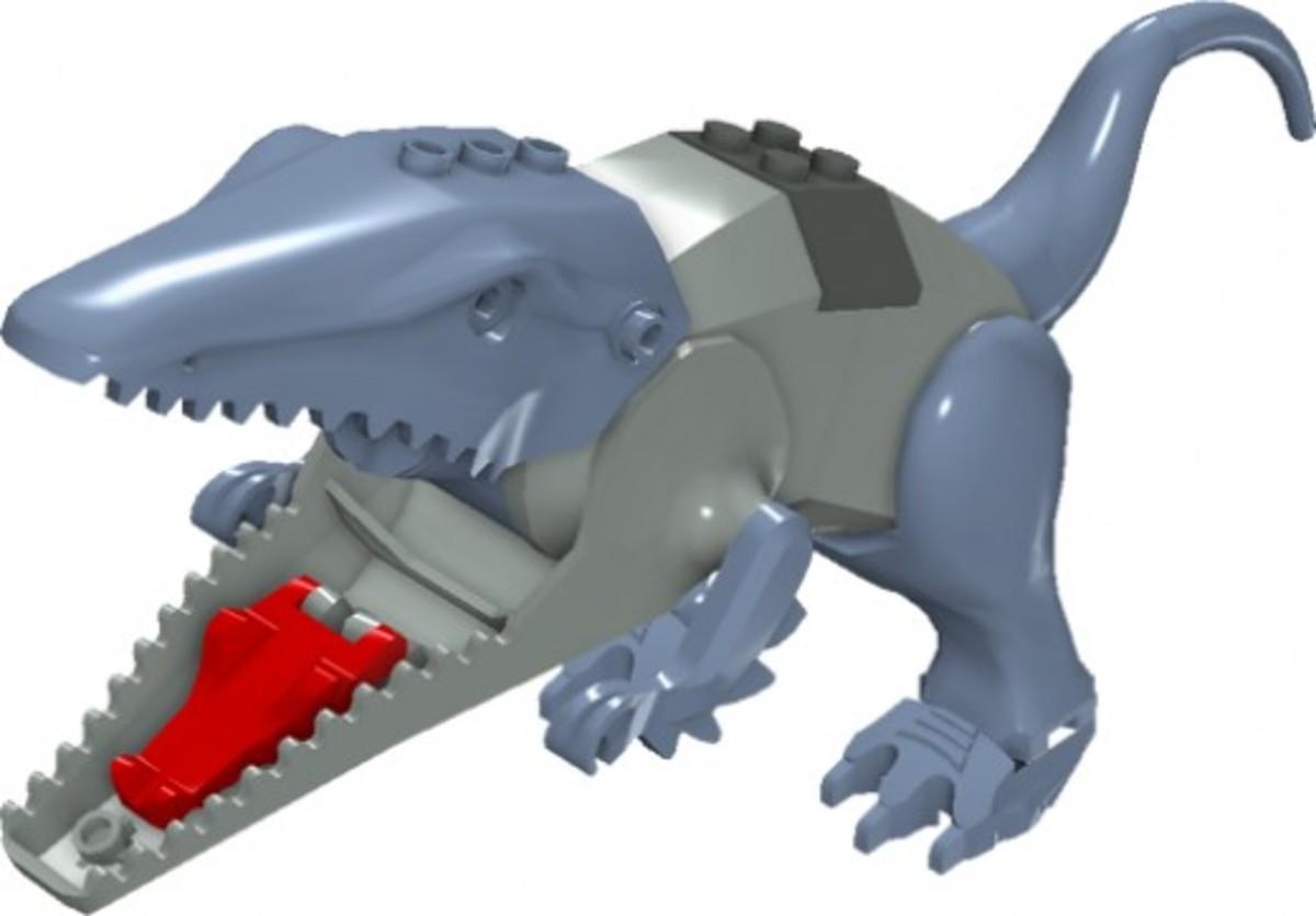 LEGO Dinosaurs Postosuchus 6721 Assembled