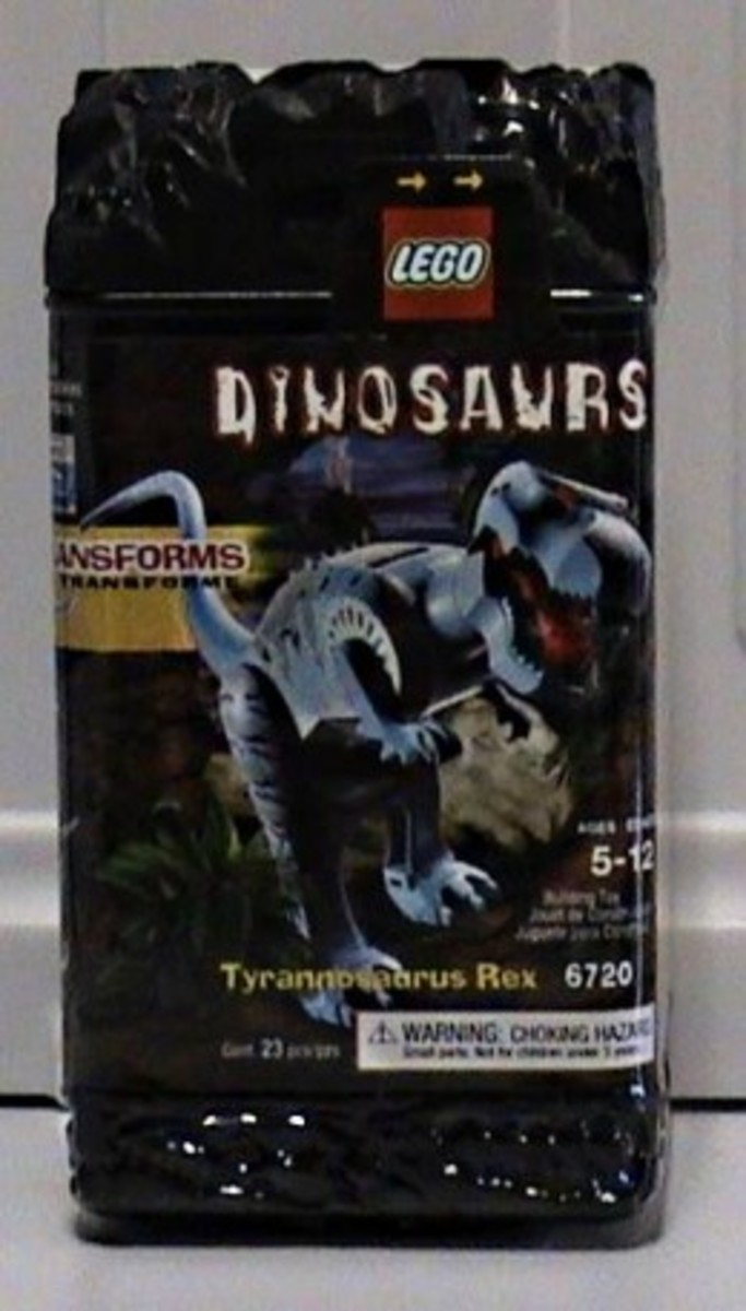 LEGO Dinosaurs Tyrannosaurus Rex 6720 Box
