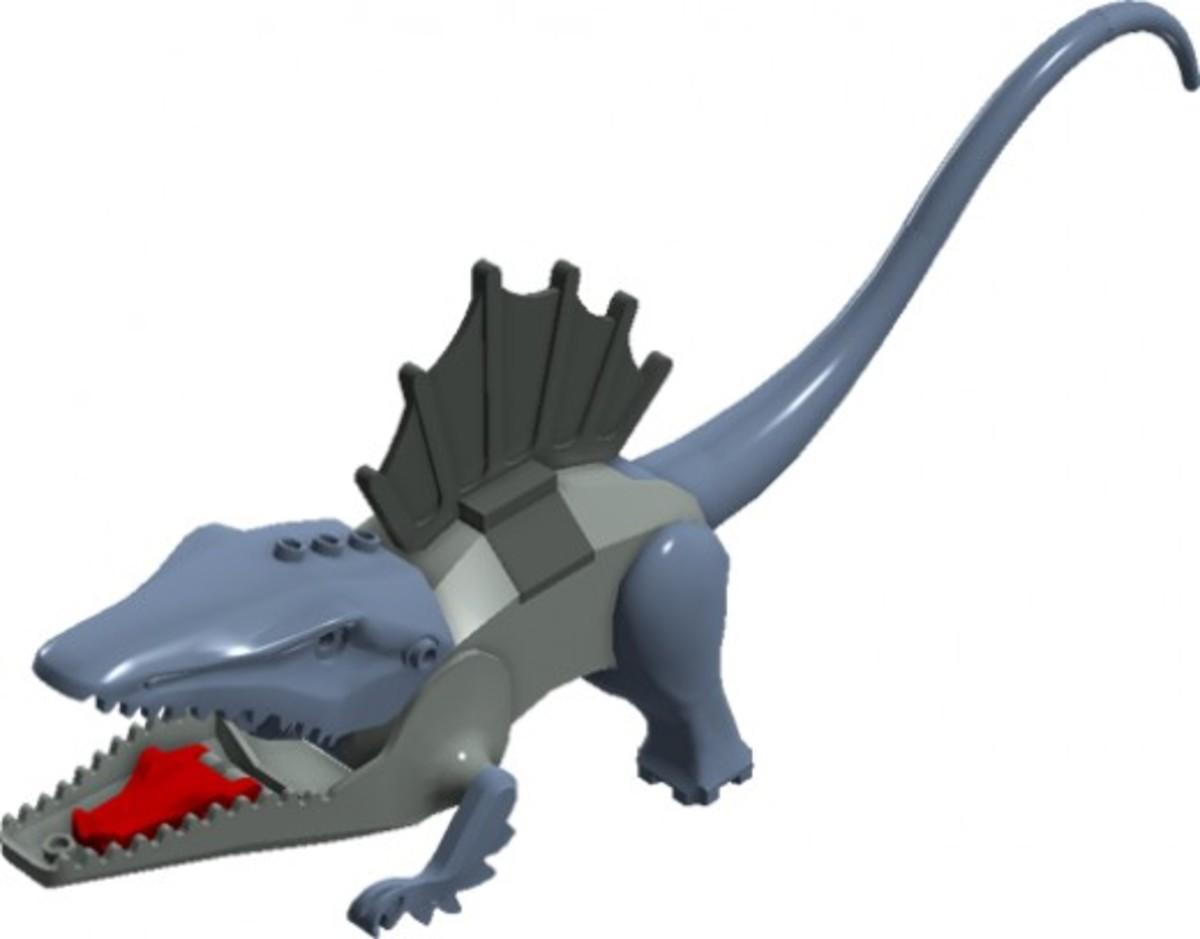 LEGO Dinosaurs Dimetrodon 6721 Assembled