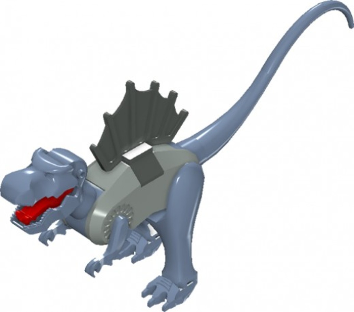 LEGO Dinosaurs Spinosaurus 6720 Assembled