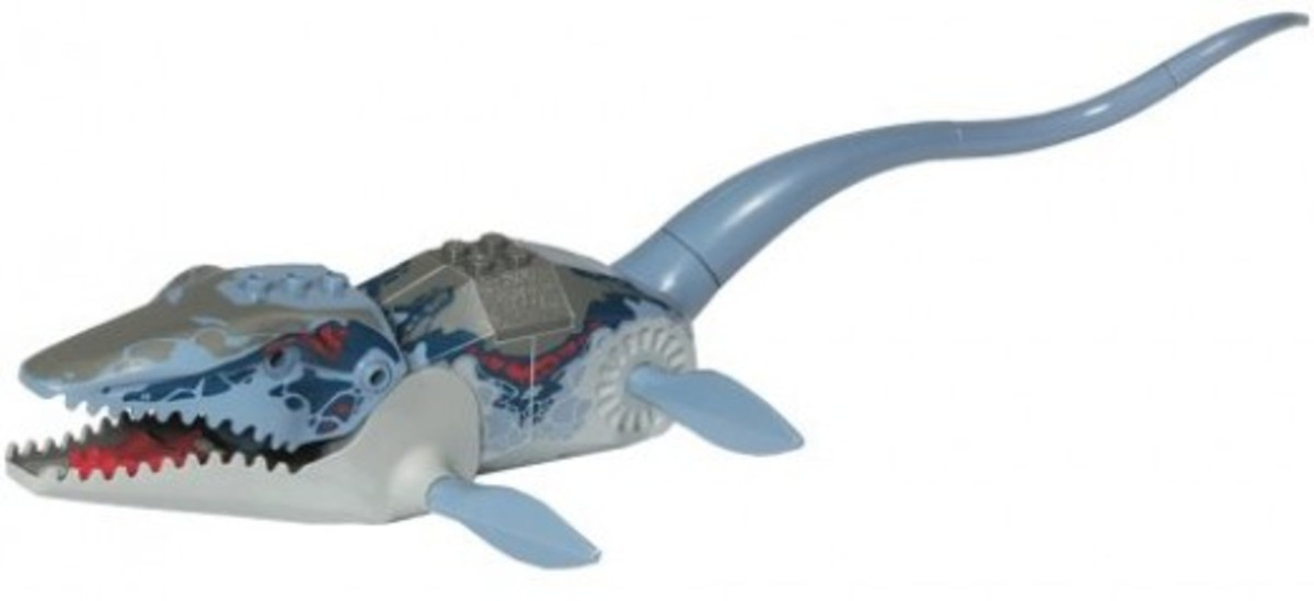 LEGO Dinosaurs Mosasaurus 6721 Assembled