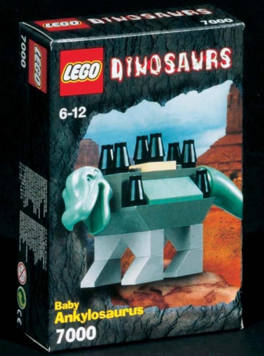 LEGO Dinosaurs Young Ankylosaurus 7000 Box