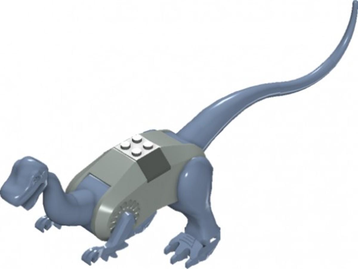 LEGO Dinosaurs Iguanodon 6721 Assembled