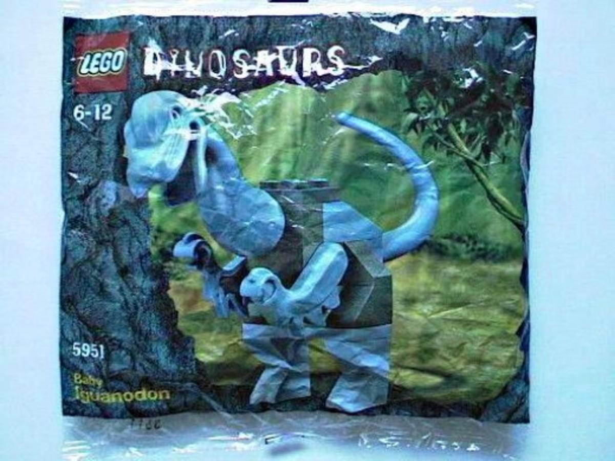 LEGO Dinosaurs Baby Iguanodon 5951 Bag