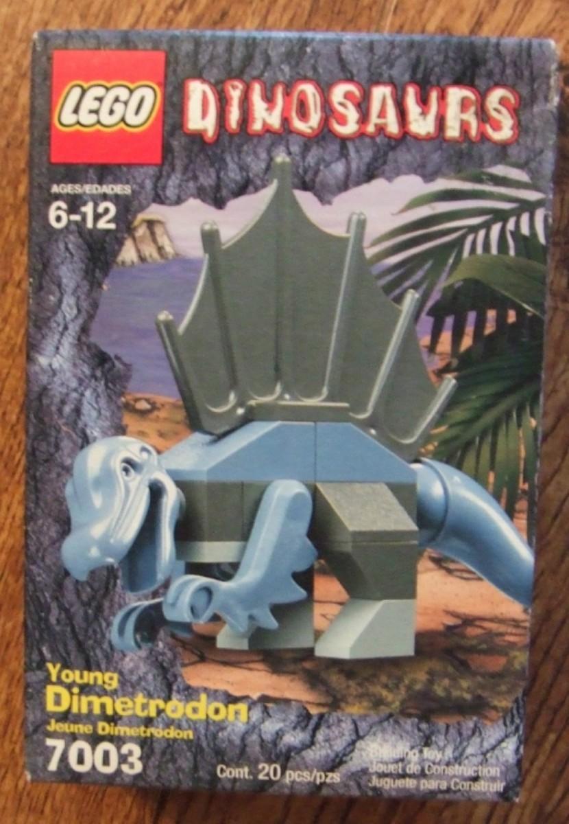 LEGO Dinosaurs Young Dimetrodon 7003 Box