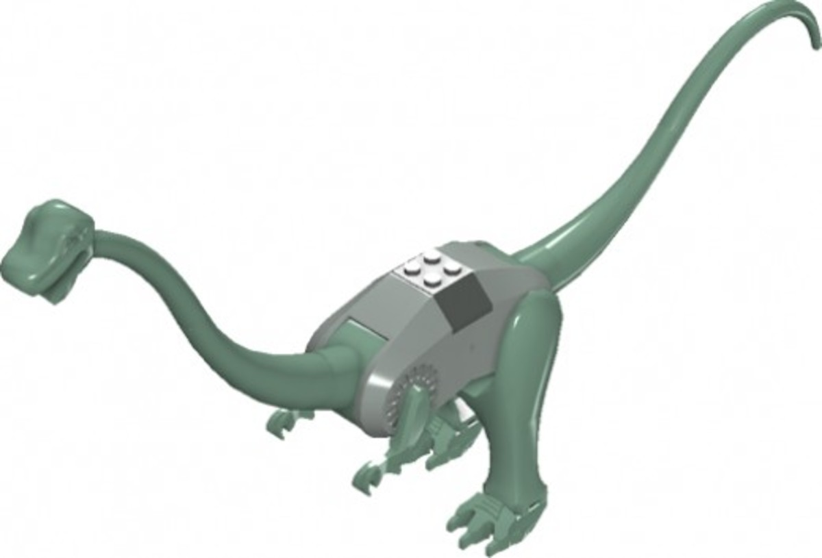 LEGO Dinosaurs Plateosaurus 6719 Assembled