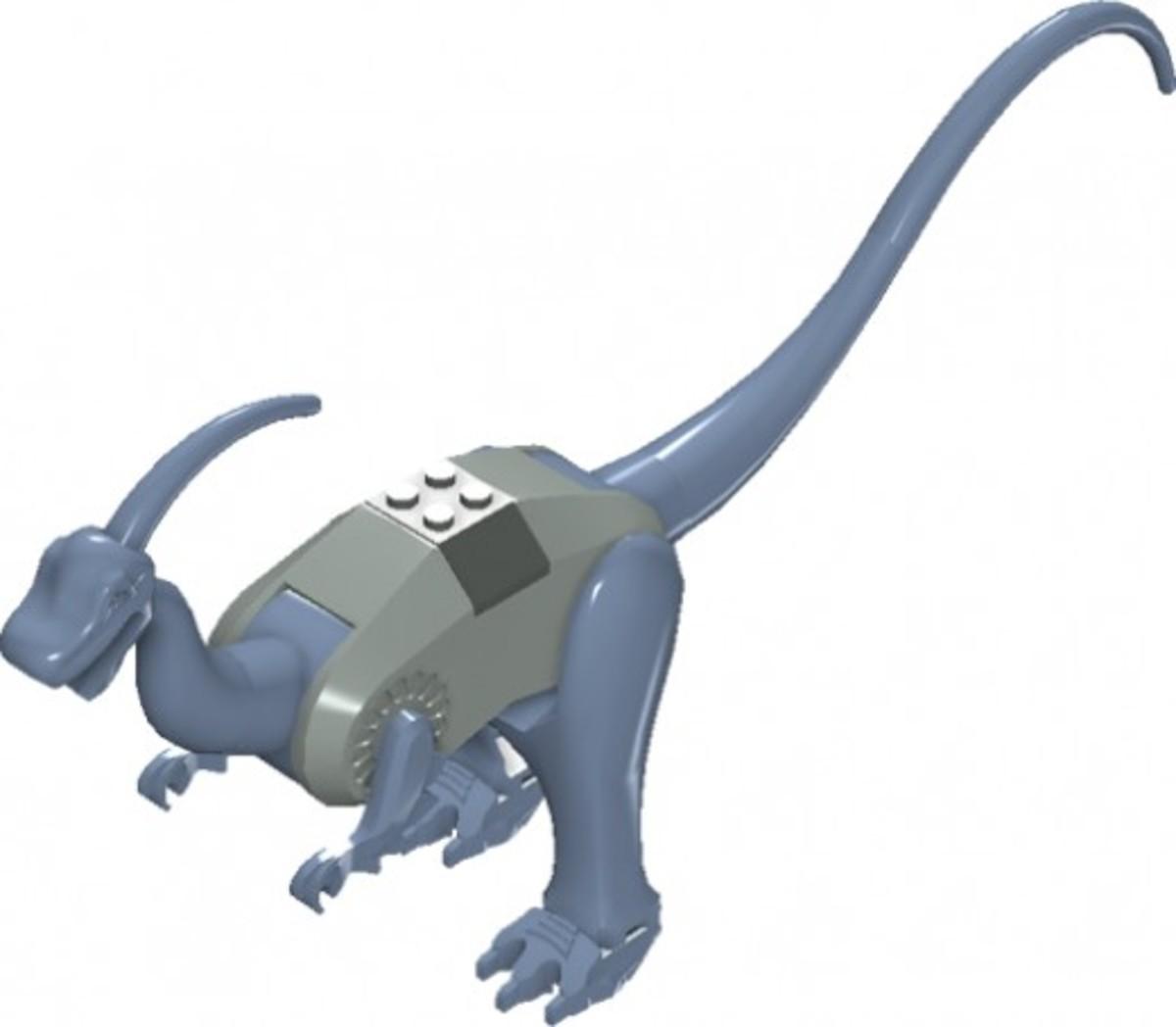 LEGO Dinosaurs Parasaurolophus 6720 Assembled