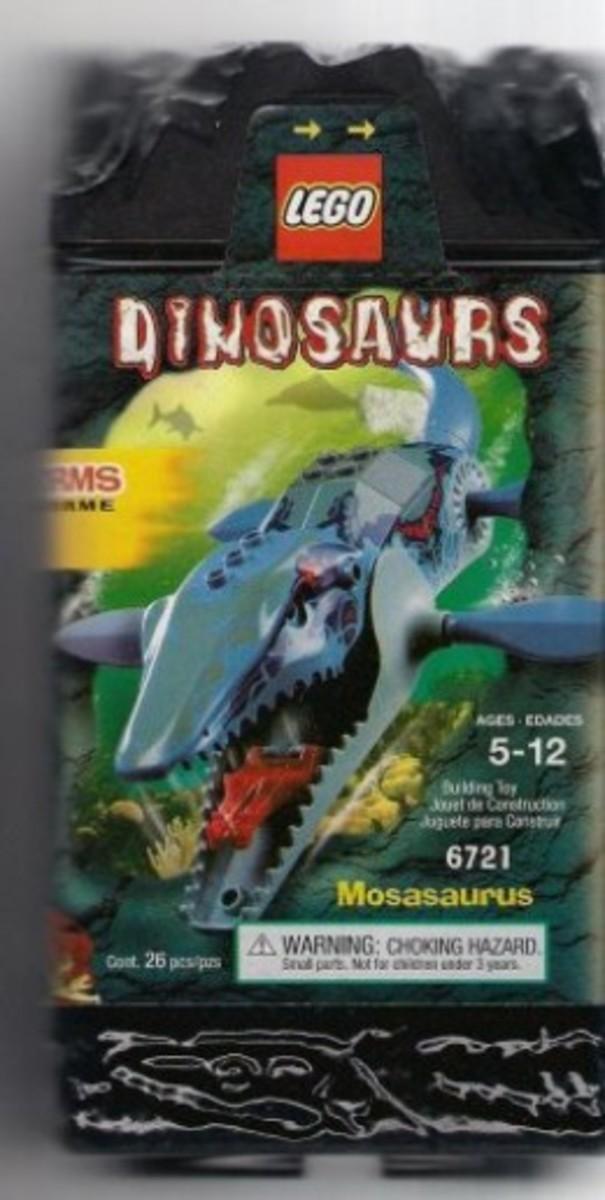 LEGO Dinosaurs Mosasaurus 6721 Box