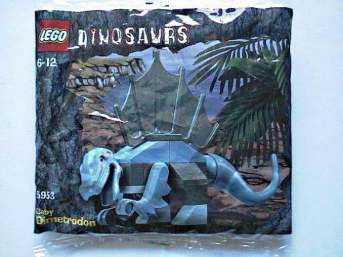 LEGO Dinosaurs Baby Dimetrodon 5953 Bag