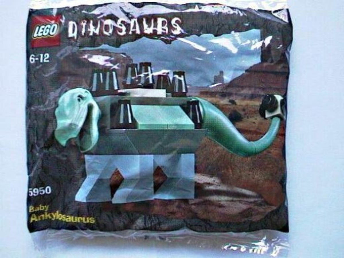 LEGO Dinosaurs Baby Ankylosaurus 5950 Bag
