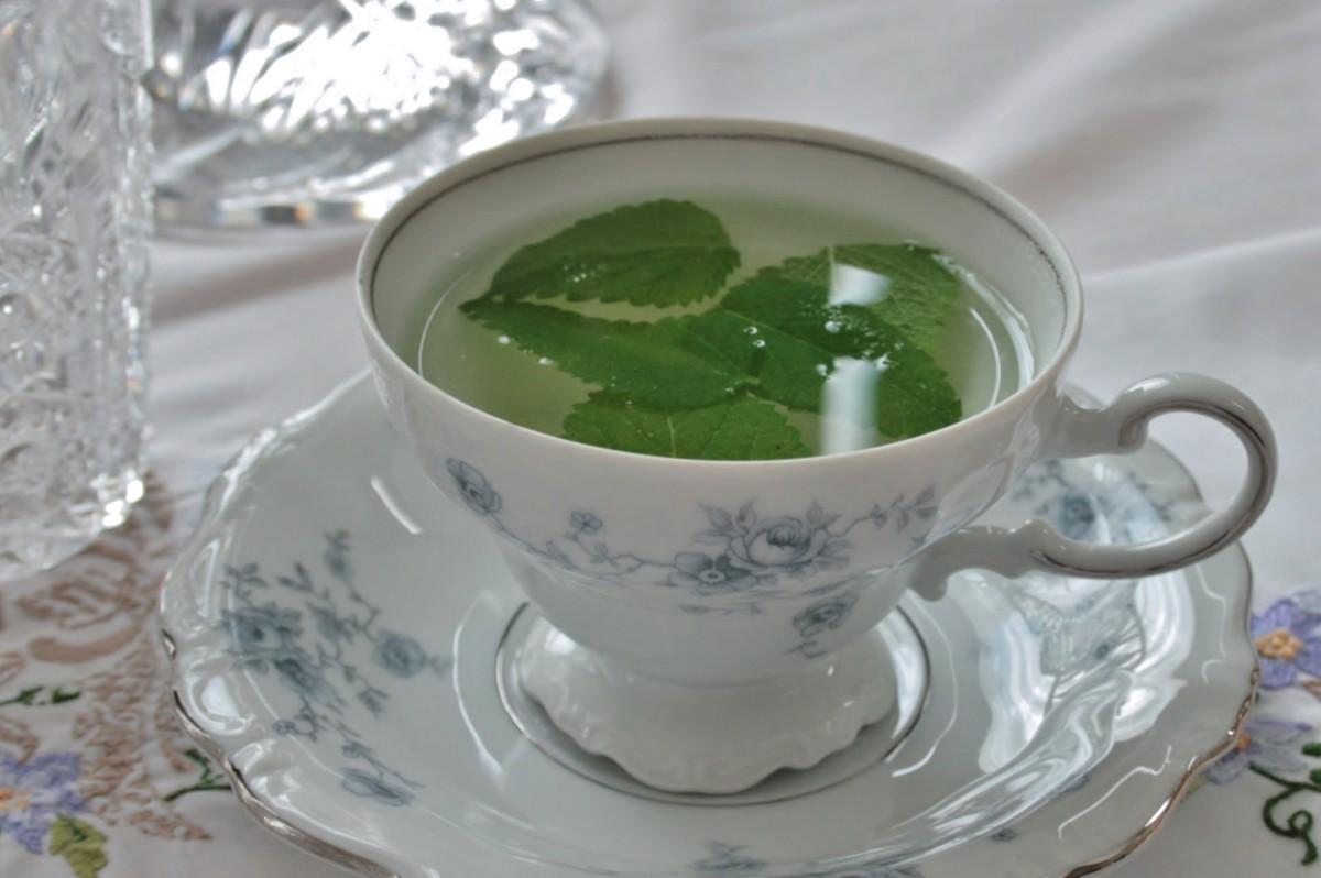 lemon-balm-tea