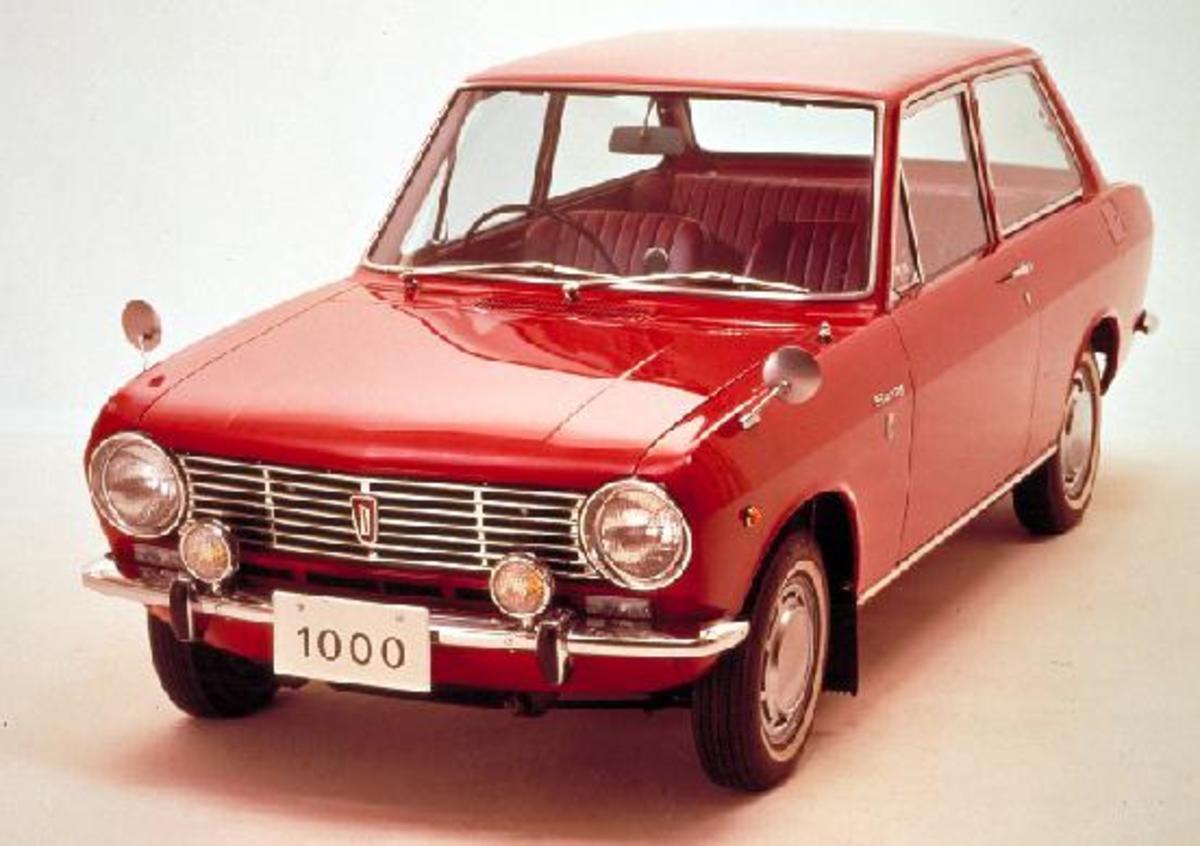 Datsun Sunny 1000 of 1966.