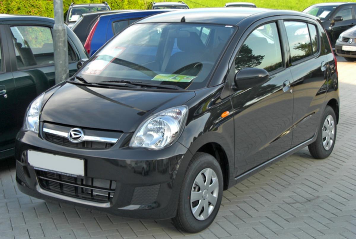Daihatsu Cuore of 2008.