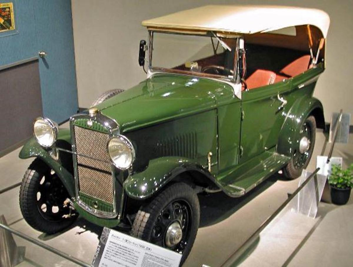 The Datsun 11 of 1932.