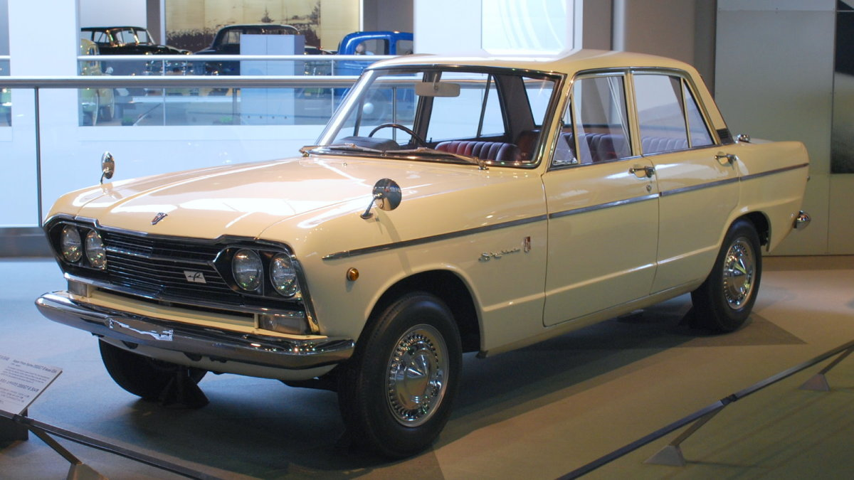Nissan Prince Skyline of 1966.