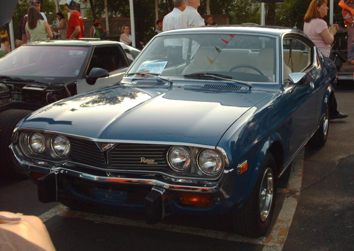 Mazda RX-4 of 1975.