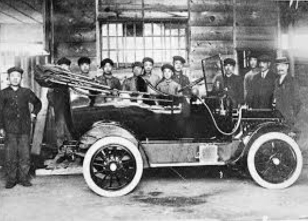 The DAT car was presented in 1914.
