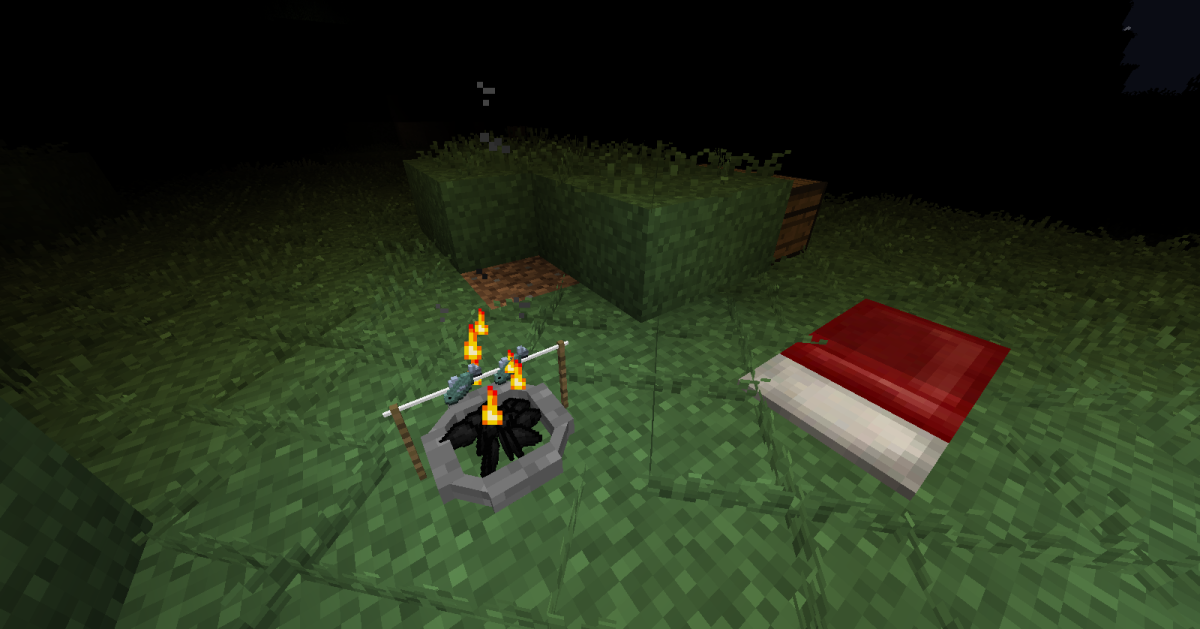 The four types of cooking fires all look great, and the ability to see how cooked the food is in is a very nice touch.