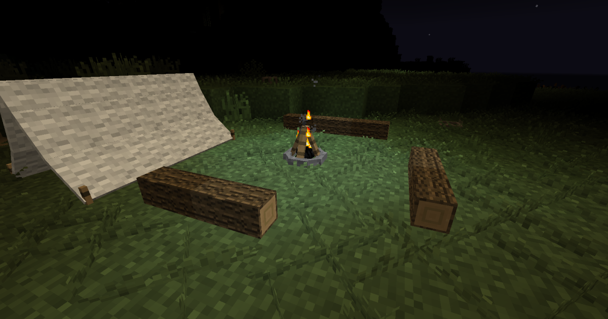 Minecraft Mod Examination: The Camping Mod