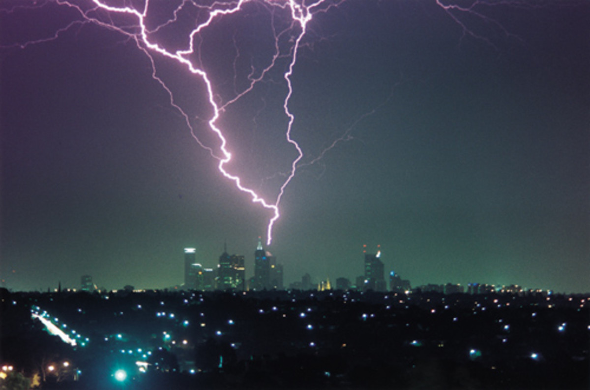 Power off your devices during thunderstorm