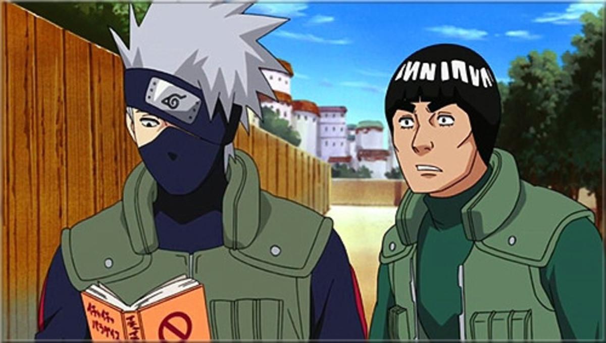 Kakashi and Gai from Naruto and Naruto Shippuden