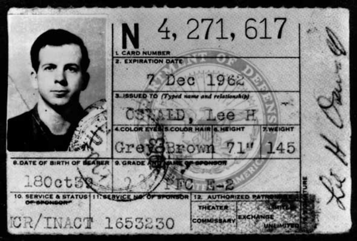 Lee or Oswald or Hidell, initially was charged with the murder of a police officer and not charged with the assassination of the president until the following day.