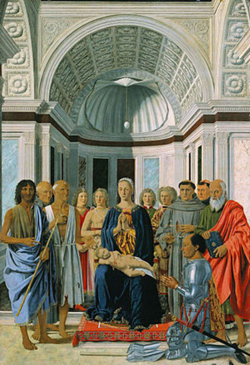 Piero della Francesca, Pala di Brera (1472), Milan Pinacoteca di Brera