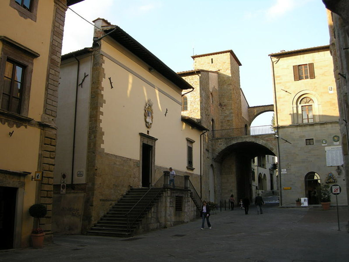 Sansepolcro, the Entrance of the Museo Civico