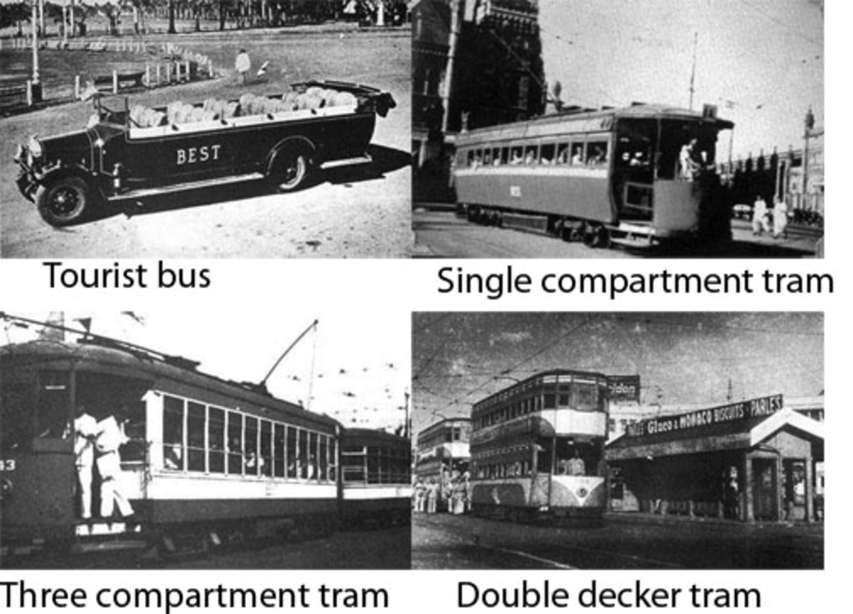 Types of trams